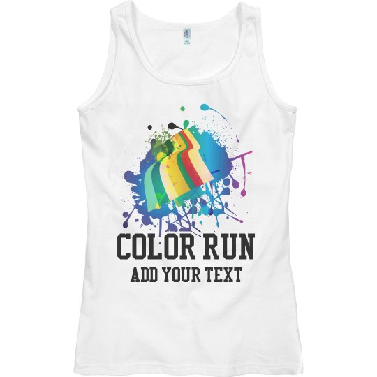 Custom Color Run Group Shirts