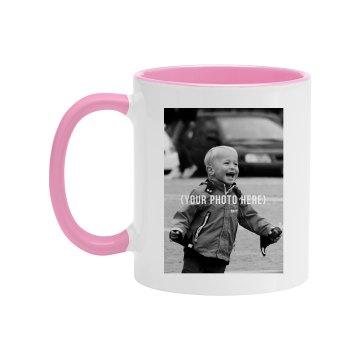 Custom Colored Photo Mug