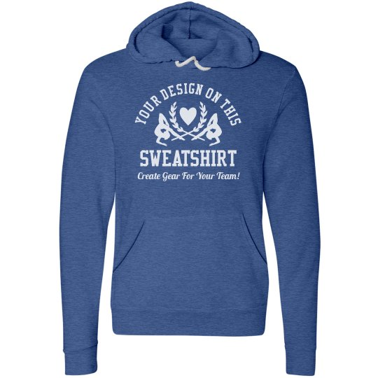 Custom Comfy Gymnastics Sweatshirt