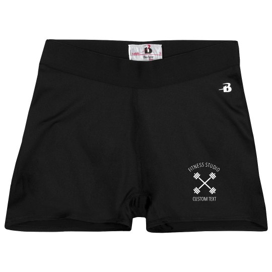 Custom Compression Shorts for your Fitness Studio