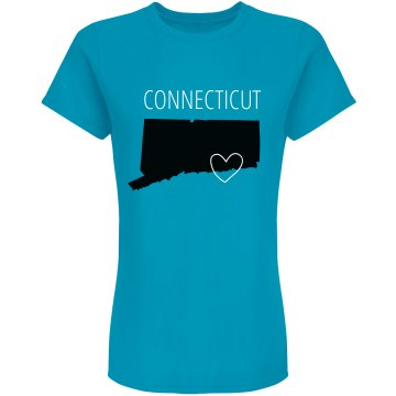 Custom Connecticut Heart