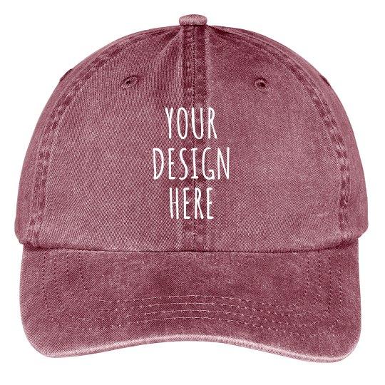 Custom Cotton Twill Hat