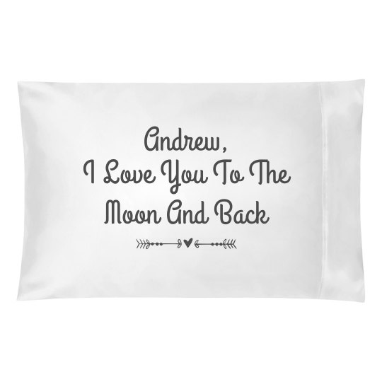 Custom Couples Moon and Back