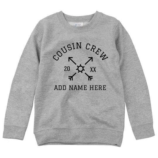 Custom Cousin Crew Add Name