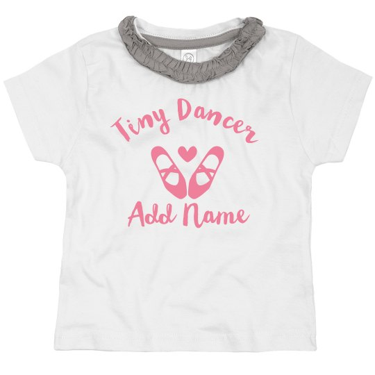 Custom Cute Kids Ballet Dancer Gift