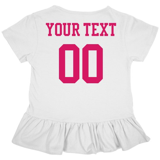 Custom Cute Name/Number Little Girl