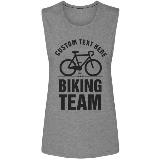 Custom Cycling Muscle Tank