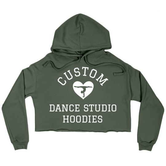 Custom Dance And Gymnastic Crops