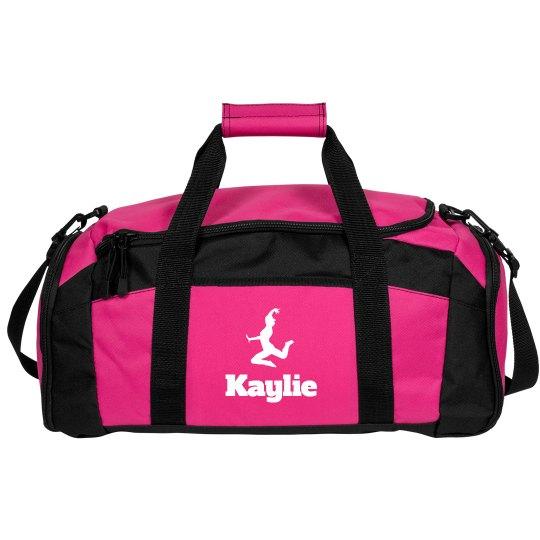Custom Dance Bag With Custom Name And Art