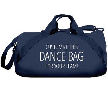 Custom Dance Bags For Studios/Teams