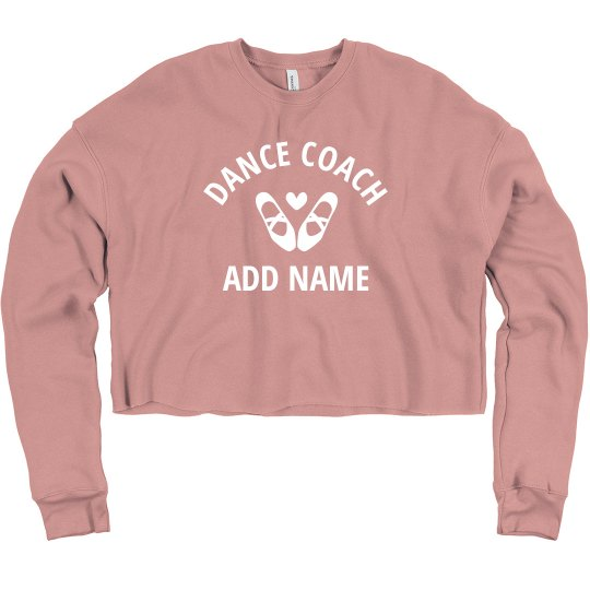 Custom Dance Coach Cropped Practice