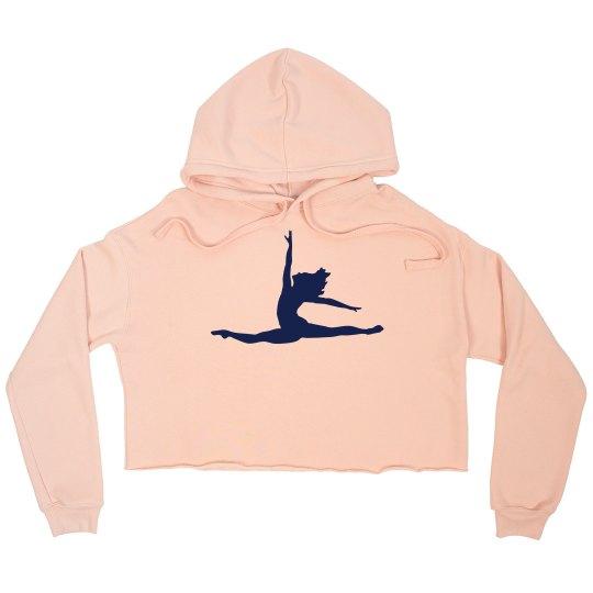 Custom Dance Crop Sweatshirt