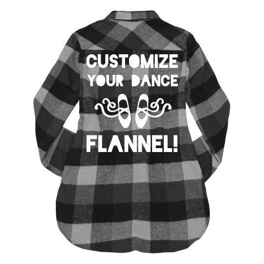Custom Dance Flannel