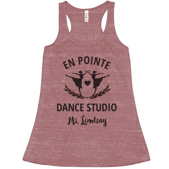 Custom Dance Studio Instructor Custom Name