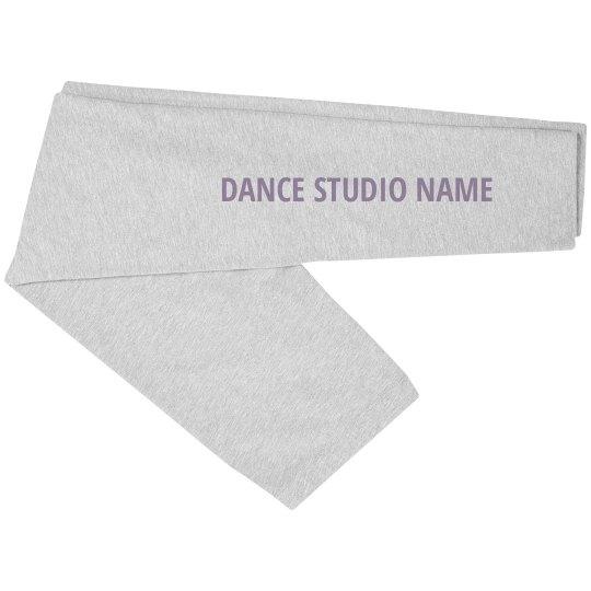 Custom Dance Studio Name Leg Print