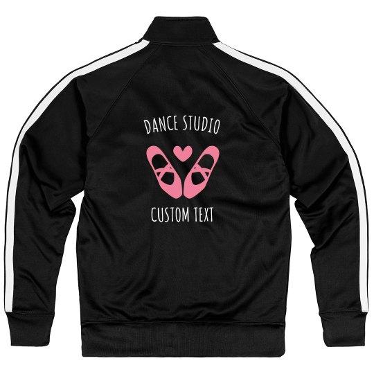 Custom Dance Studio Sport Zip Jackets