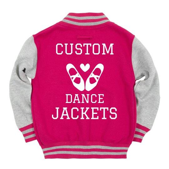 Custom Dance Varsity Jackets Youth