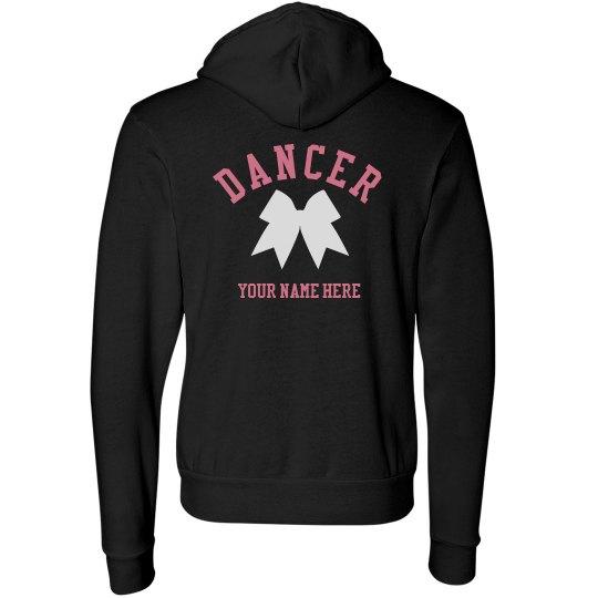 Custom Dancer Hoodie With Bow