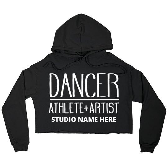 Custom Dancer Studio Crop Sweatshirt