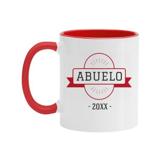 Custom Date Abuelo Mug