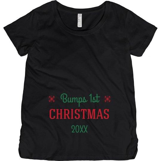 Custom Date Bumps First Christmas