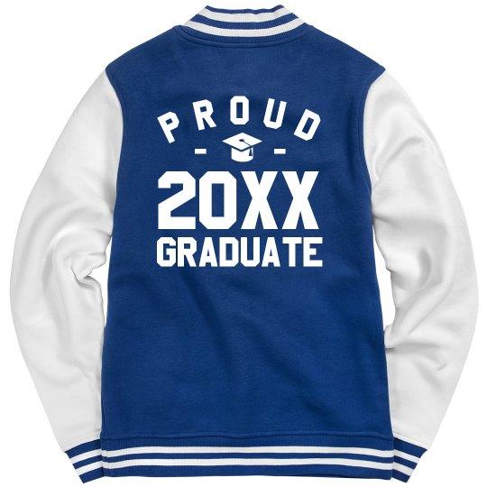 Custom Date Grad Jacket