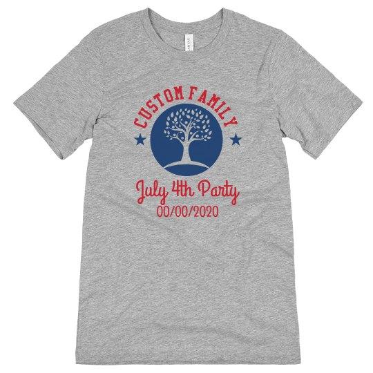 Custom Date July Forth Shirt