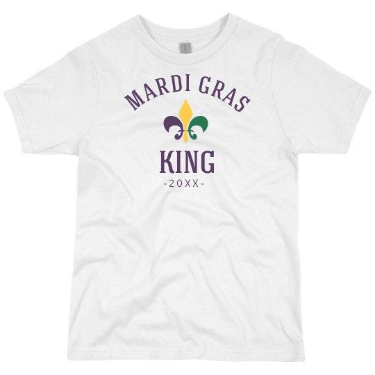 Custom Date Mardi Gras King