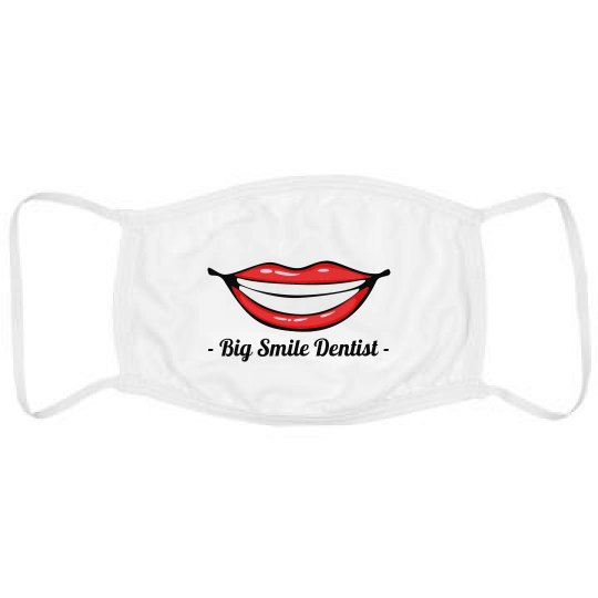 Custom Dentist Name Face Mask