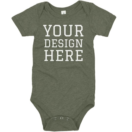 Custom Design Baby Triblend