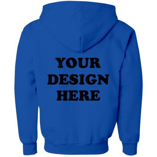 Custom Design Kids Sweatshirt Back