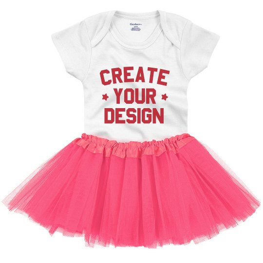 Custom Design Stars Tutu Onesie
