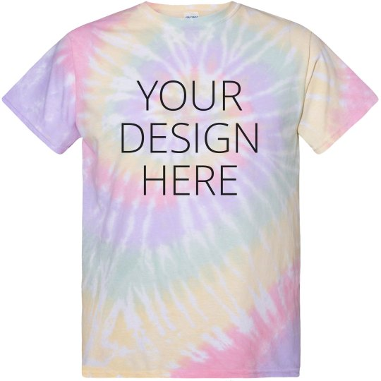 Custom Design Tie-Dye Shirt