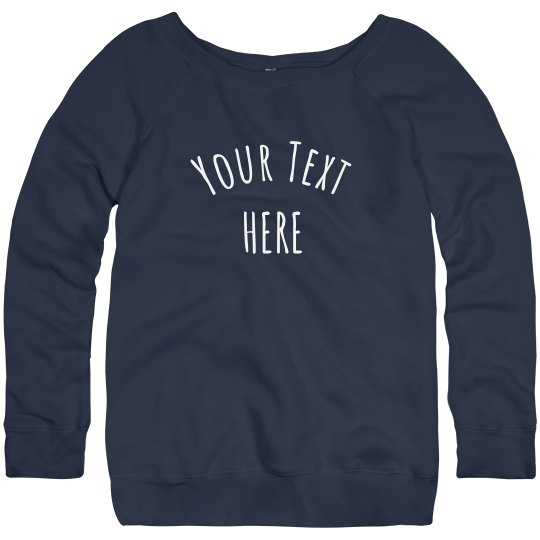 Custom Design Trendy Sweatshirts