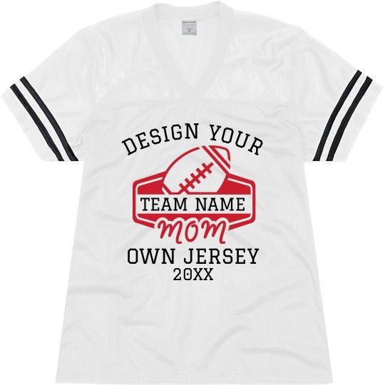 Custom Designed Mom Sports Jersey