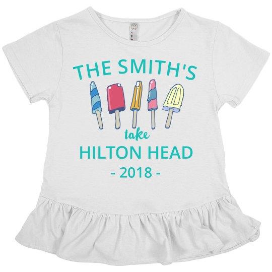Custom Destination Family Vacation Shirts