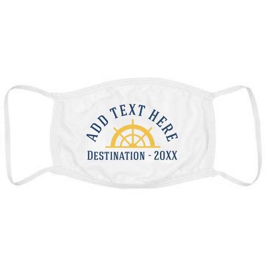 Custom Destination Vacation Mask