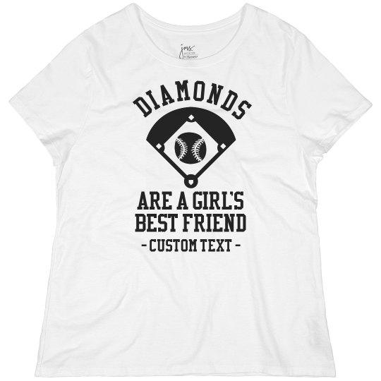 Custom Diamonds are a Girl's Best Friend