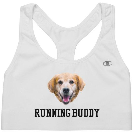 Custom Dog Photo Running Buddy Bra