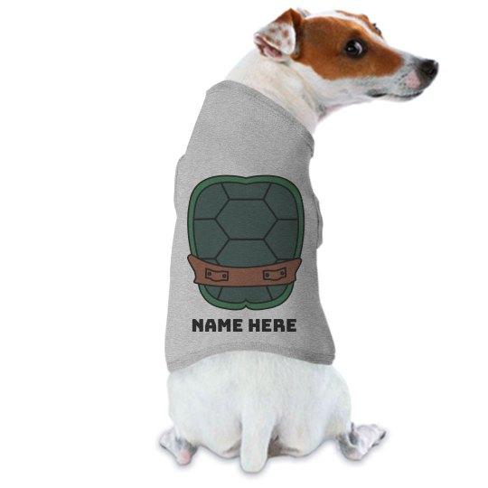 Custom Dog Turtle Shell Costume