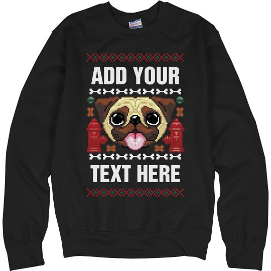 Custom Dog Ugly Sweater