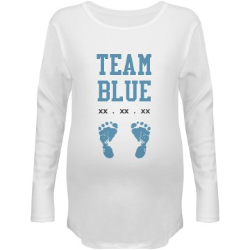 Custom due Date Team Blue