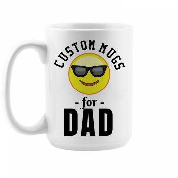 Custom Emoji Dad Gift