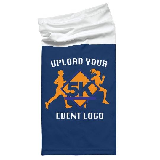 Custom Event Logo Face Cover Gaiters