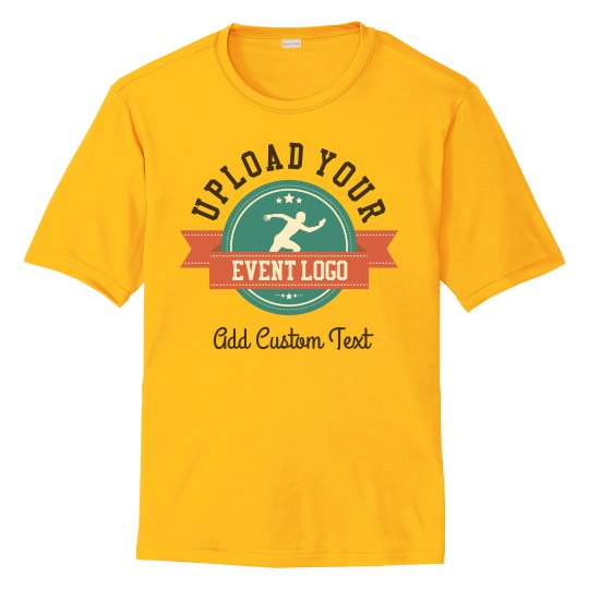 Custom Event Logo Performance Shirts