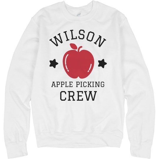 Custom Family Apple Picking Crew