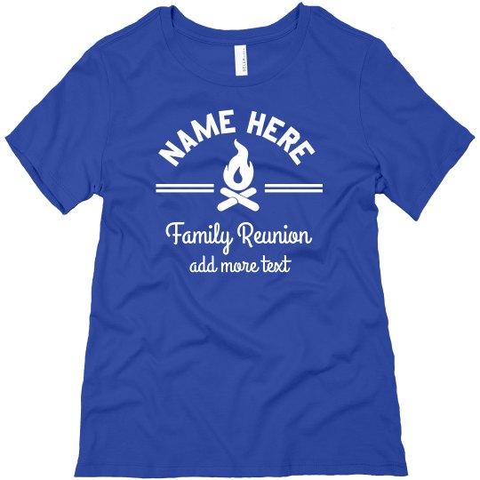 Custom Family Campfire Tee