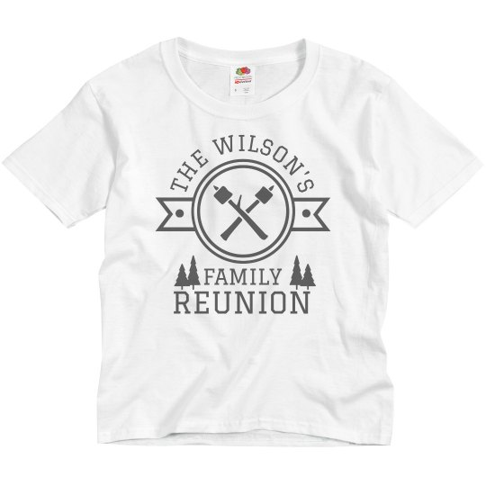 Custom Family Camping Reunion Tee