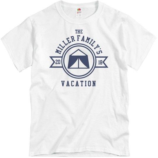 Custom Family Camping Vacation