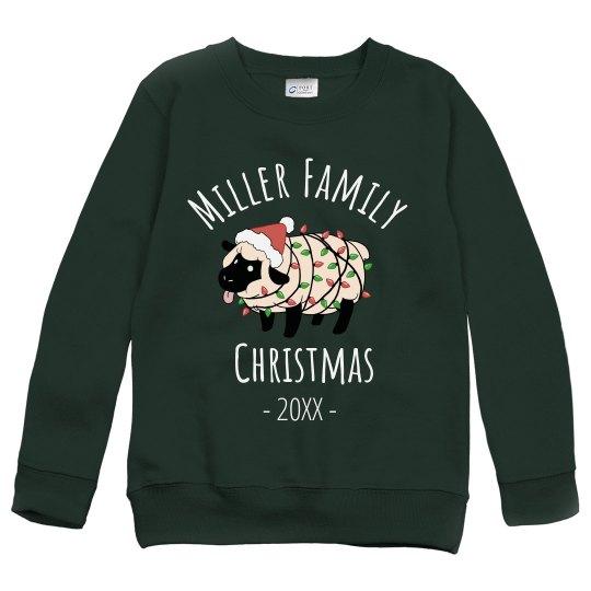 Custom Family Christmas Group Design